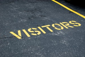 Visitors Parking Spot Photo
