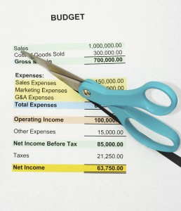 How to Cut A Budget Beforehand