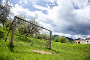 Soccer Field in Disrepair