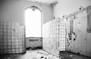 Deteriorated Shower Room