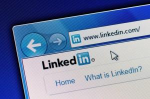 LinkedIn Welcome Screen